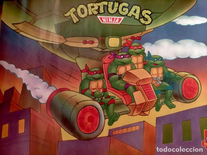 Coleccionismo Papel Varios: Póster tortugas ninja - Foto 5 - 218256238
