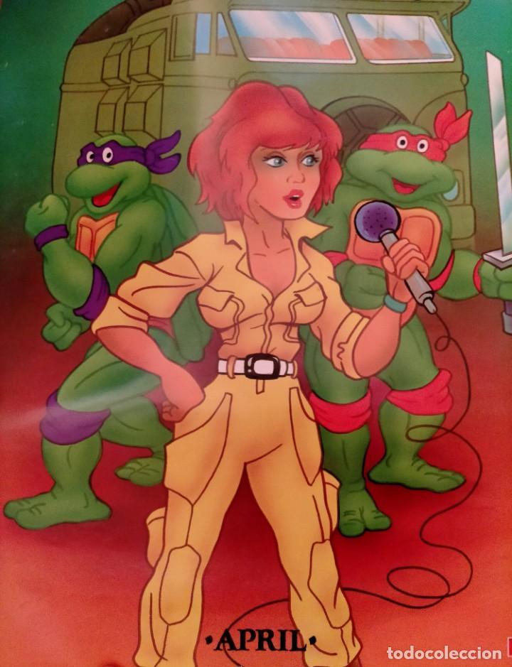 Coleccionismo Papel Varios: Póster tortugas ninja - Foto 7 - 218256238