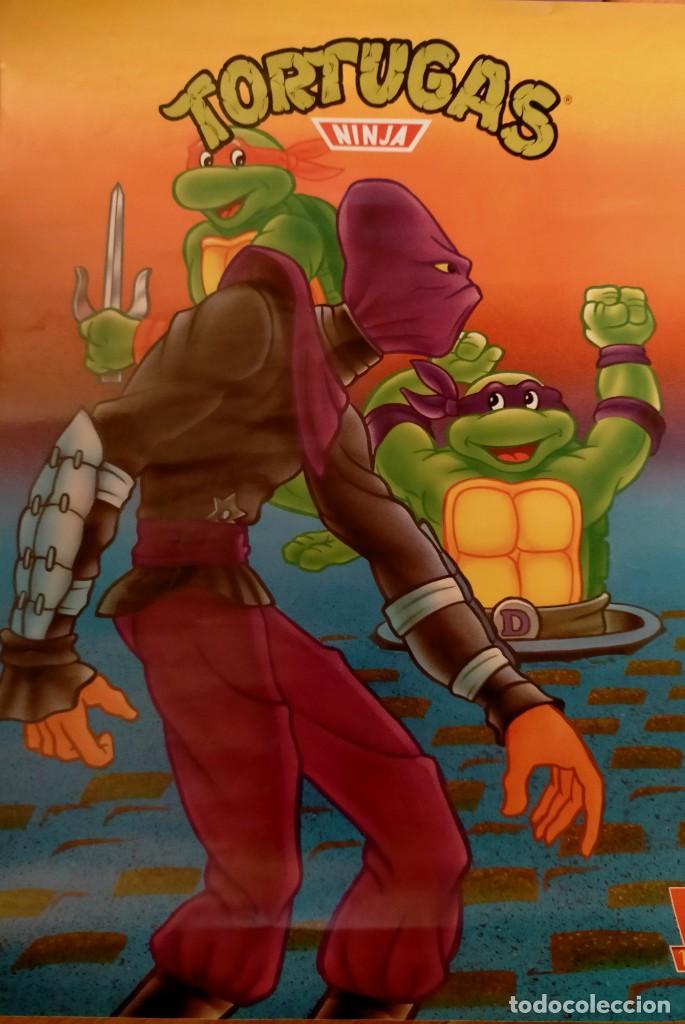 Coleccionismo Papel Varios: Póster tortugas ninja - Foto 12 - 218256238