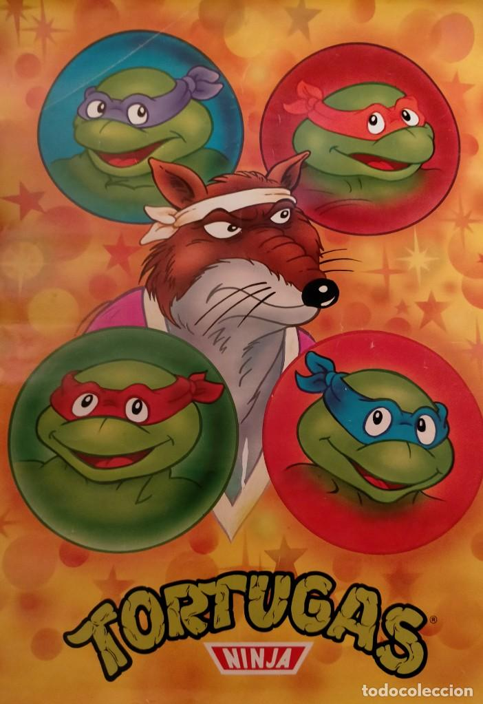 Coleccionismo Papel Varios: Póster tortugas ninja - Foto 13 - 218256238