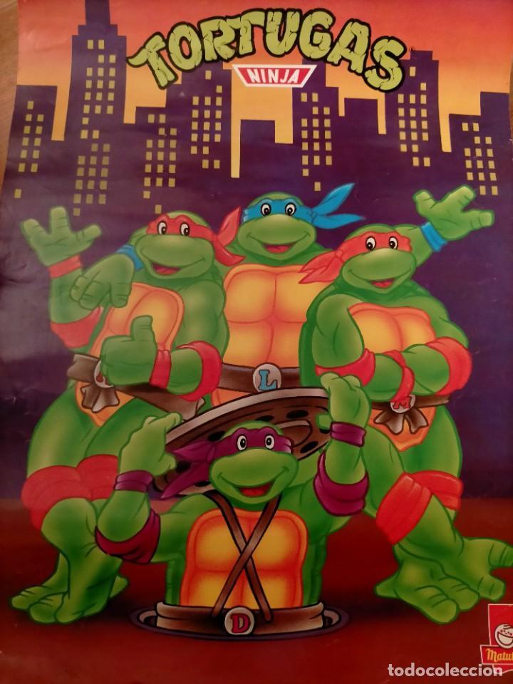 Coleccionismo Papel Varios: Póster tortugas ninja - Foto 18 - 218256238