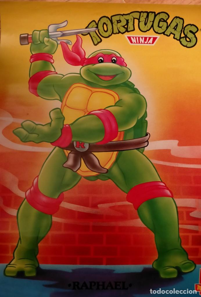 Coleccionismo Papel Varios: Póster tortugas ninja - Foto 19 - 218256238