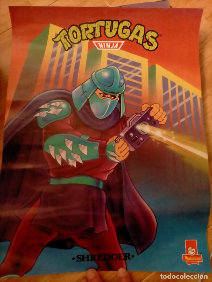 Coleccionismo Papel Varios: Póster tortugas ninja - Foto 23 - 218256238