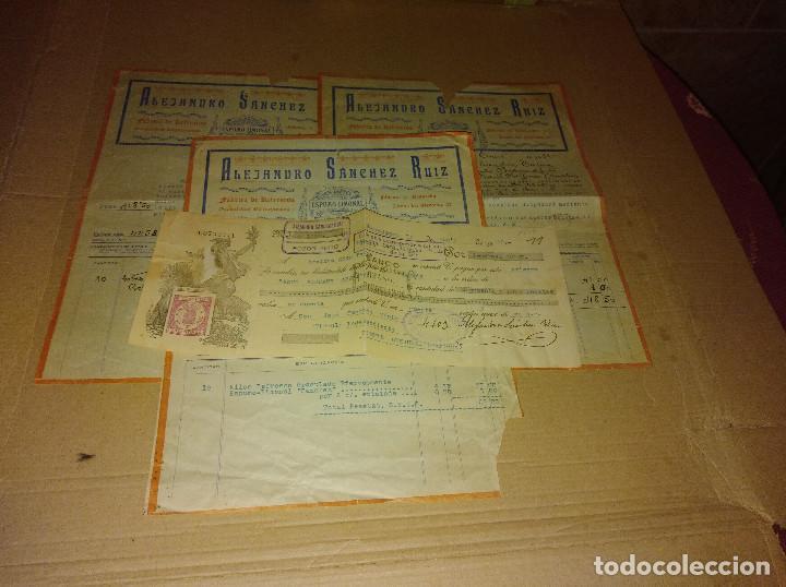 LOTE POZOBLANCO CORDOBA FACTURAS SANCHEZ RUIZ FABRICA REFRESCOS 1930 - 31 (Coleccionismo en Papel - Varios)