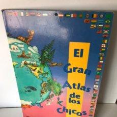Coleccionismo Papel Varios: EL GRAN ATLAS DE LOS CHICOS. Lote 257707585
