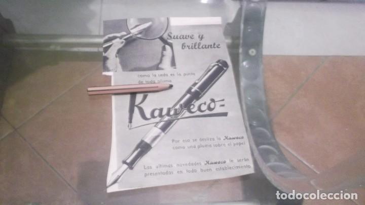 RECORTE PUBLICIDAD AÑO 1942 - PLUMA ESTILOGRAFICA KAWECO (Coleccionismo en Papel - Varios)