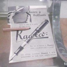 Coleccionismo Papel Varios: RECORTE PUBLICIDAD AÑO 1942 - PLUMA ESTILOGRAFICA KAWECO. Lote 218828597