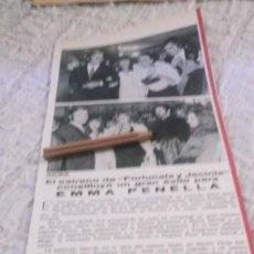 Coleccionismo Papel Varios: RECORTE PUBLICIDAD AÑOS 70 -ESTRENO DE FORTUNATA Y JACINTA ,EMMA PENELLA,ROCIO DURCAL,JUNIOR,MARISOL. Lote 218835970