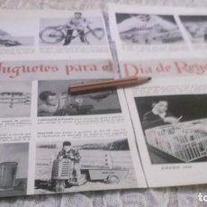 Coleccionismo Papel Varios: RECORTE PUBLICIDAD AÑO 1956 - JUGUETES PARA EL DIA DE REYES. Lote 218929970