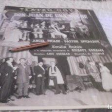 Coleccionismo Papel Varios: RECORTE AÑO 1965.MADRID-TEATRO GOYA . DON JUAN DE UNA NOCHE .ATRAS XLVII SALÓN AUTOMOVIL. Lote 219016221