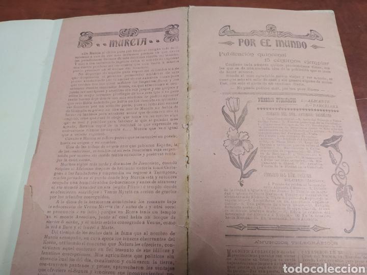 Coleccionismo Papel Varios: Murcia, Por el Mundo, Viajes por España. - Foto 5 - 219130460