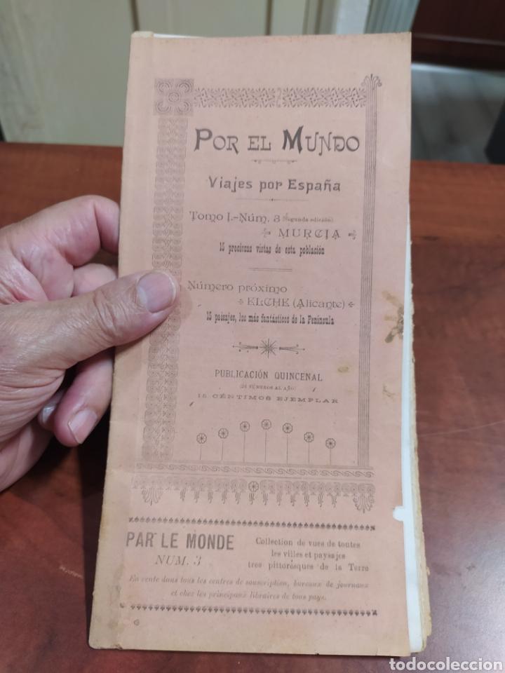 MURCIA, POR EL MUNDO, VIAJES POR ESPAÑA. (Coleccionismo en Papel - Varios)