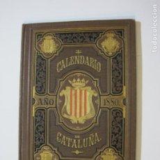 Coleccionismo Papel Varios: CATALUNYA-CALENDARIO DE CATALUÑA-AÑO 1880-IMP NAIPES RAMIREZ Y CIA-VER FOTOS-(K-536). Lote 219224825