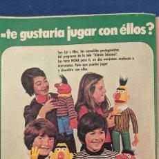 Coleccionismo Papel Varios: ANTIGUO ANUNCIO MUÑECAS VICMA. Lote 235695910