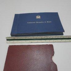 Coleccionismo Papel Varios: DOS ANTIGUOS ALBUM FOTOS DE PRESAS EMBALSES DE LA CONFEDERACION HIDROGRAFICA DEL SEGURA.. Lote 219596518