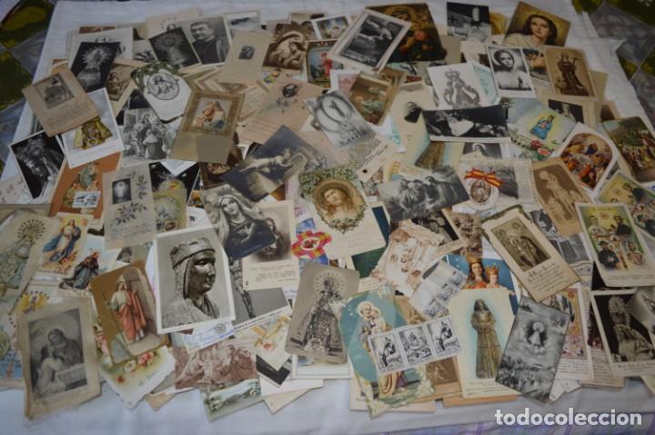 Coleccionismo Papel Varios: Sobre 400 Estampas religiosas, de todos tipos, formatos y clases - De principios 1900 a 1960 ¡Mira! - Foto 2 - 220373306