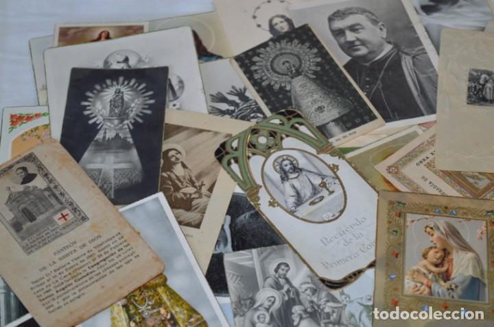Coleccionismo Papel Varios: Sobre 400 Estampas religiosas, de todos tipos, formatos y clases - De principios 1900 a 1960 ¡Mira! - Foto 3 - 220373306