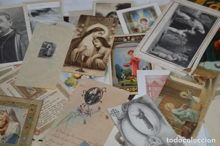 Coleccionismo Papel Varios: Sobre 400 Estampas religiosas, de todos tipos, formatos y clases - De principios 1900 a 1960 ¡Mira! - Foto 4 - 220373306