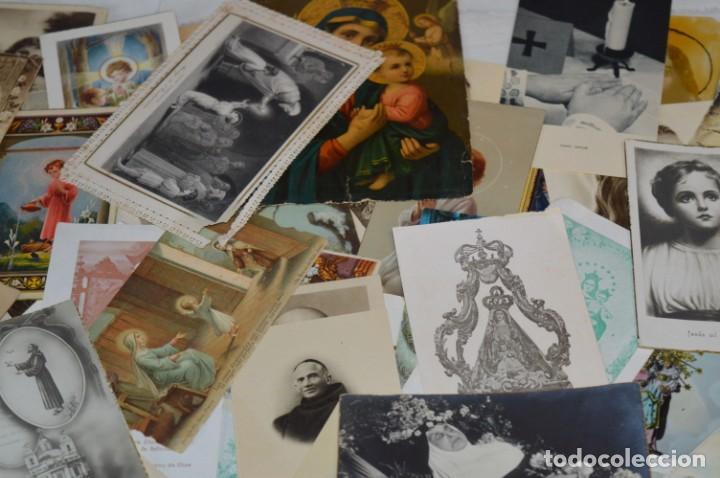 Coleccionismo Papel Varios: Sobre 400 Estampas religiosas, de todos tipos, formatos y clases - De principios 1900 a 1960 ¡Mira! - Foto 5 - 220373306