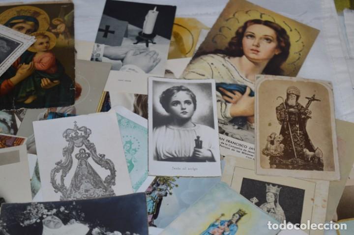 Coleccionismo Papel Varios: Sobre 400 Estampas religiosas, de todos tipos, formatos y clases - De principios 1900 a 1960 ¡Mira! - Foto 6 - 220373306