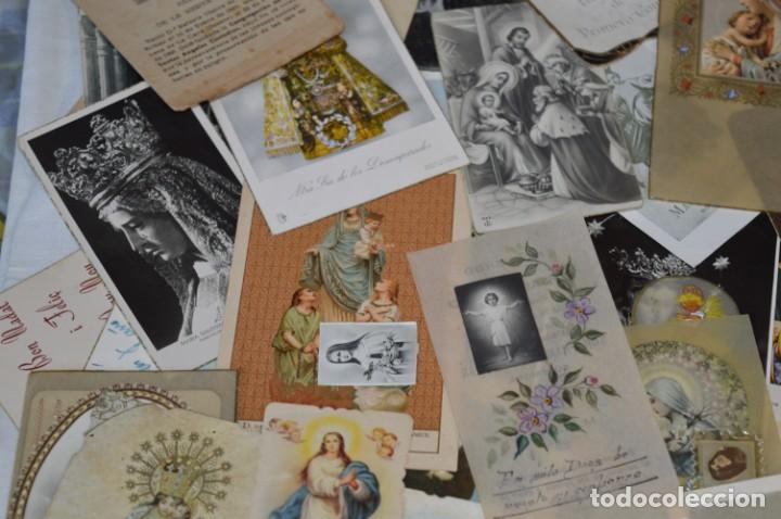 Coleccionismo Papel Varios: Sobre 400 Estampas religiosas, de todos tipos, formatos y clases - De principios 1900 a 1960 ¡Mira! - Foto 7 - 220373306