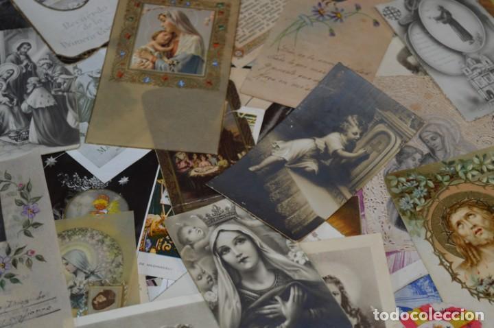 Coleccionismo Papel Varios: Sobre 400 Estampas religiosas, de todos tipos, formatos y clases - De principios 1900 a 1960 ¡Mira! - Foto 8 - 220373306