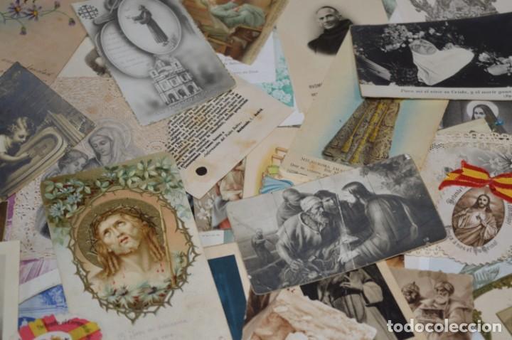 Coleccionismo Papel Varios: Sobre 400 Estampas religiosas, de todos tipos, formatos y clases - De principios 1900 a 1960 ¡Mira! - Foto 9 - 220373306