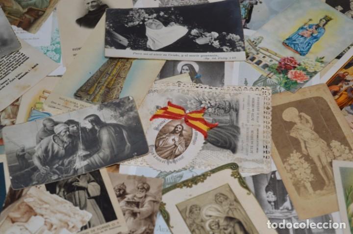 Coleccionismo Papel Varios: Sobre 400 Estampas religiosas, de todos tipos, formatos y clases - De principios 1900 a 1960 ¡Mira! - Foto 10 - 220373306