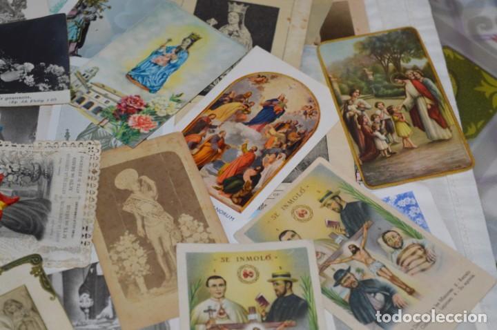 Coleccionismo Papel Varios: Sobre 400 Estampas religiosas, de todos tipos, formatos y clases - De principios 1900 a 1960 ¡Mira! - Foto 11 - 220373306