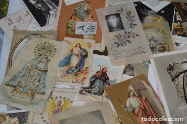 Coleccionismo Papel Varios: Sobre 400 Estampas religiosas, de todos tipos, formatos y clases - De principios 1900 a 1960 ¡Mira! - Foto 12 - 220373306