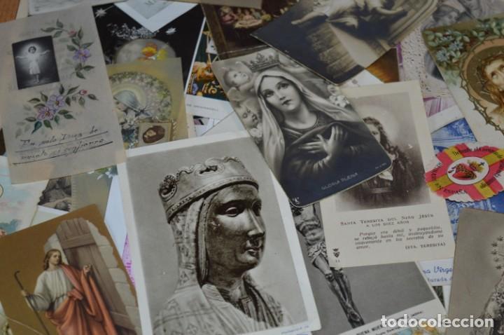 Coleccionismo Papel Varios: Sobre 400 Estampas religiosas, de todos tipos, formatos y clases - De principios 1900 a 1960 ¡Mira! - Foto 13 - 220373306