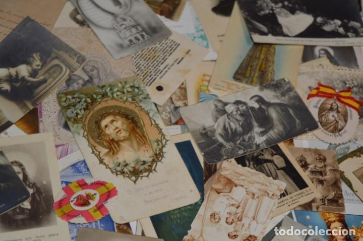 Coleccionismo Papel Varios: Sobre 400 Estampas religiosas, de todos tipos, formatos y clases - De principios 1900 a 1960 ¡Mira! - Foto 14 - 220373306