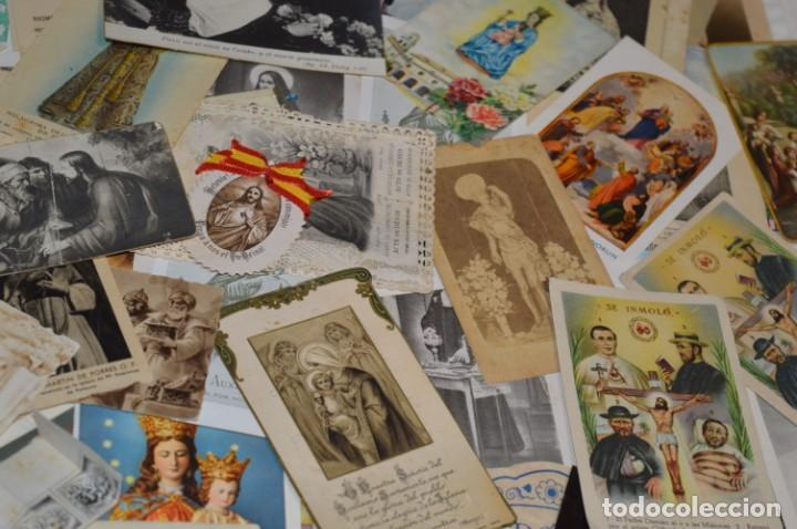 Coleccionismo Papel Varios: Sobre 400 Estampas religiosas, de todos tipos, formatos y clases - De principios 1900 a 1960 ¡Mira! - Foto 15 - 220373306