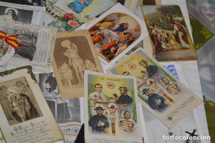 Coleccionismo Papel Varios: Sobre 400 Estampas religiosas, de todos tipos, formatos y clases - De principios 1900 a 1960 ¡Mira! - Foto 16 - 220373306