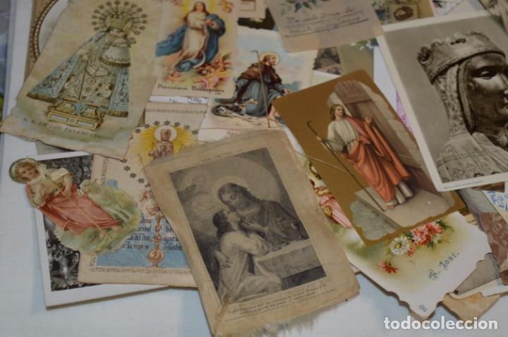 Coleccionismo Papel Varios: Sobre 400 Estampas religiosas, de todos tipos, formatos y clases - De principios 1900 a 1960 ¡Mira! - Foto 17 - 220373306