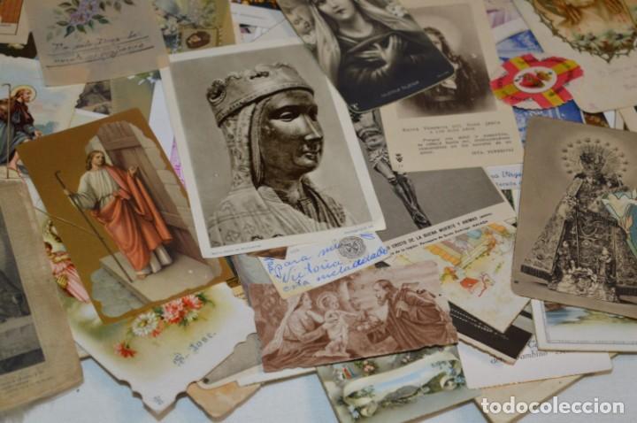 Coleccionismo Papel Varios: Sobre 400 Estampas religiosas, de todos tipos, formatos y clases - De principios 1900 a 1960 ¡Mira! - Foto 18 - 220373306