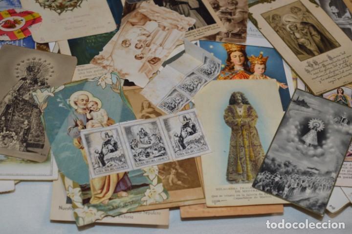 Coleccionismo Papel Varios: Sobre 400 Estampas religiosas, de todos tipos, formatos y clases - De principios 1900 a 1960 ¡Mira! - Foto 20 - 220373306