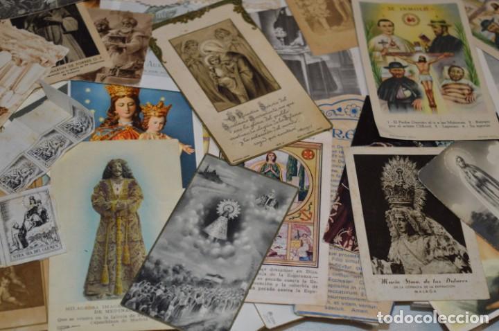 Coleccionismo Papel Varios: Sobre 400 Estampas religiosas, de todos tipos, formatos y clases - De principios 1900 a 1960 ¡Mira! - Foto 21 - 220373306