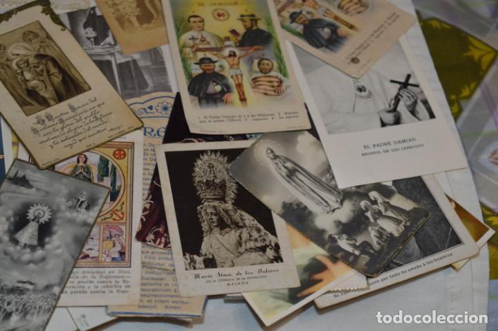 Coleccionismo Papel Varios: Sobre 400 Estampas religiosas, de todos tipos, formatos y clases - De principios 1900 a 1960 ¡Mira! - Foto 22 - 220373306