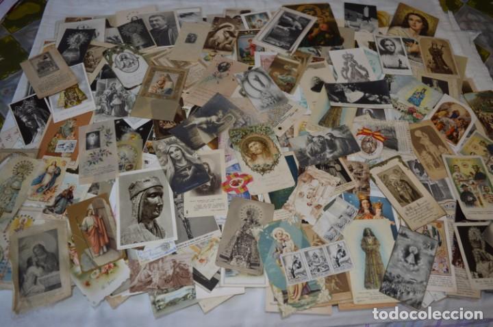 SOBRE 400 ESTAMPAS RELIGIOSAS, DE TODOS TIPOS, FORMATOS Y CLASES - DE PRINCIPIOS 1900 A 1960 ¡MIRA! (Coleccionismo en Papel - Varios)