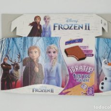 Collectionnisme Papier divers: CAJA/EMBALAJE DE CARTON DE PHOSKITOS - FROZEN 2 II - 2020 - ANA/ELSA. Lote 221506975