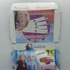 Collectionnisme Papier divers: CAJA/EMBALAJE DE CARTON DE PHOSKITOS - FROZEN 2 II - 2020 - ANA/ELSA. Lote 221506978