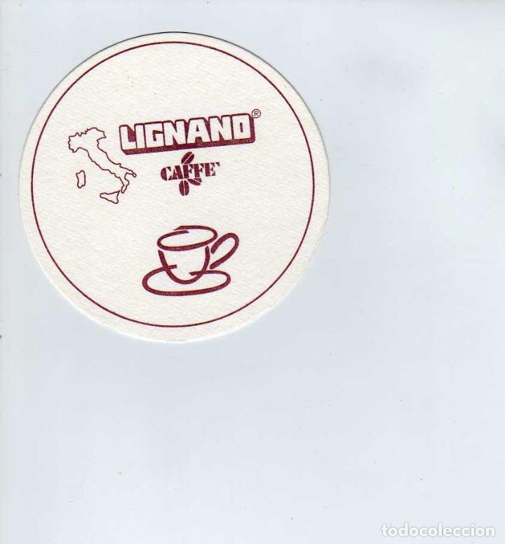 POSAVASOS CAFE LIGNANO (Coleccionismo en Papel - Varios)