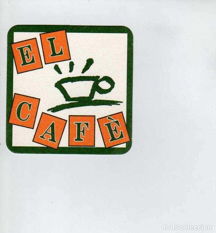 POSAVASOS EL CAFE (Coleccionismo en Papel - Varios)