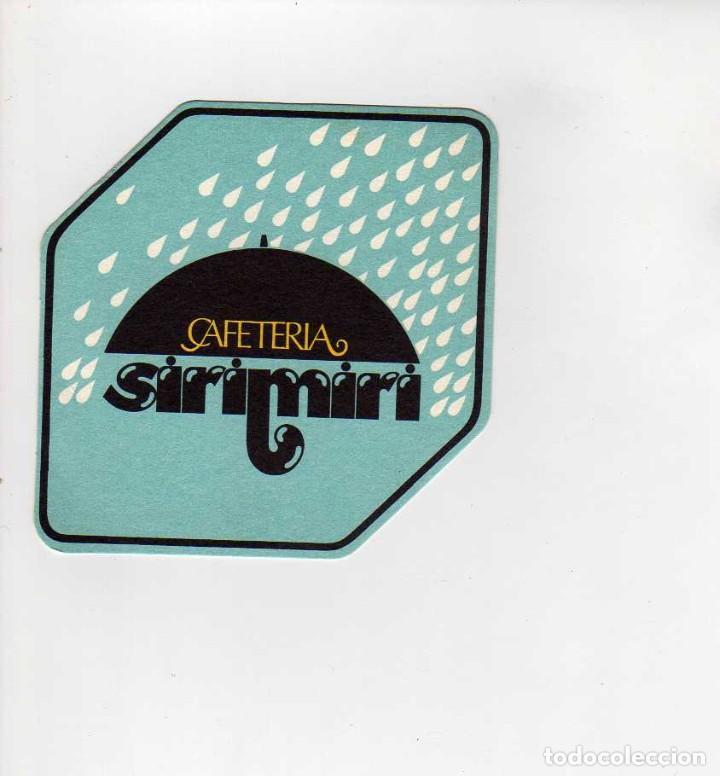 POSAVASOS CAFETERIA SIRIMIRI (Coleccionismo en Papel - Varios)