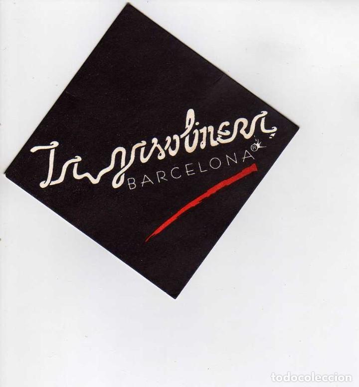 POSAVASOS LA GASOLINERA-BARCELONA (Coleccionismo en Papel - Varios)