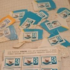 Coleccionismo Papel Varios: CARTILLA PUNTOS CHOCOLATE VALOR. Lote 221513691