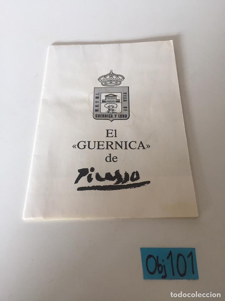 EL GUERNICA DE PICASSO (Coleccionismo en Papel - Varios)