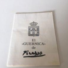 Coleccionismo Papel Varios: EL GUERNICA DE PICASSO. Lote 221584677