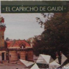 Coleccionismo Papel Varios: ENTRADA EL CAPRICHO DE GAUDÍ EN COMILLAS CANTABRIA. Lote 221730033